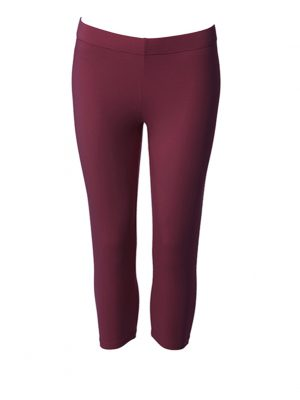 Leggings short anemone red