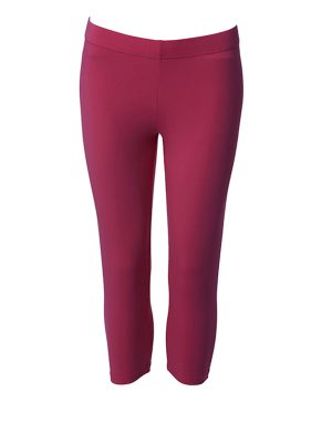 Leggings short rosa