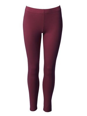 Leggins long anemone red
