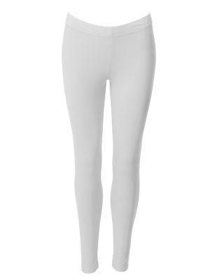 Leggings long white