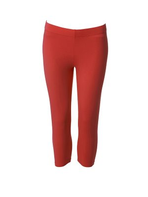 Leggings short red
