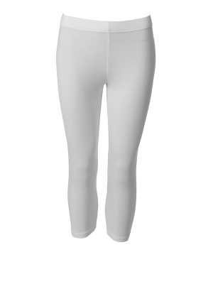 Leggings short white