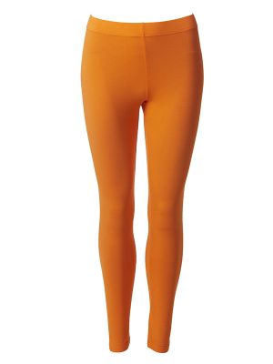 Leggings long orange