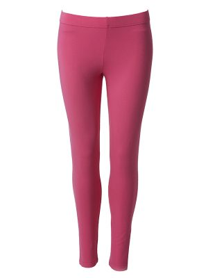 Leggings long pink