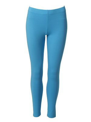 Leggings long turquoise