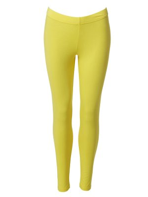 Leggings long yellow