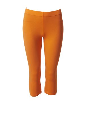 Leggings short orange