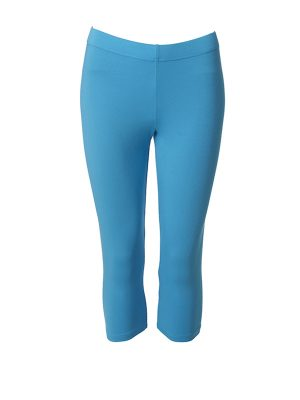 Leggings short turquoise