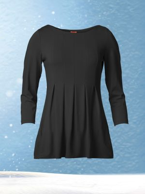 Allie Blouse Black (Delivered in November)