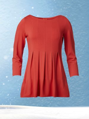 Allie Blouse Red (Delivered in November)