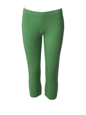 Leggings short green