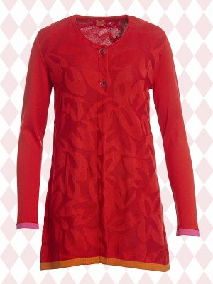 Ingalill Red Cardigan (Delivered in January)