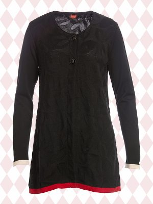 Ingalill Black Cardigan (Delivered in January)