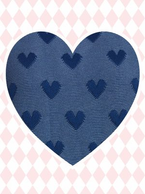Laura Blue Heart (Delivered in March)