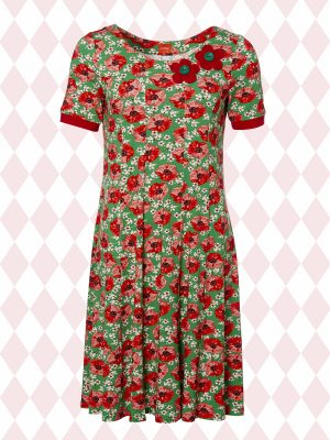 Ninnas Poppies Short Sleeve (Delivered in March)