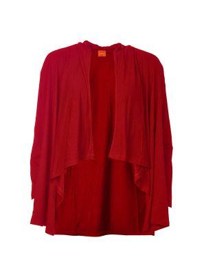 Claudilles Basic Cardigan Red