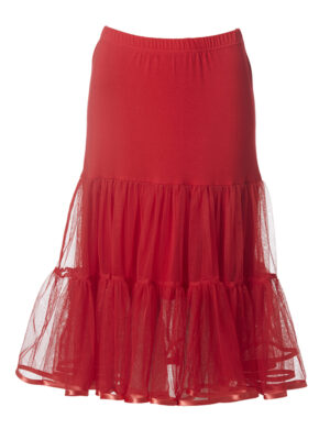 DUDODOS PARTY SKIRT RED