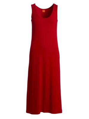 DURIKKES BASIC DRESS RED